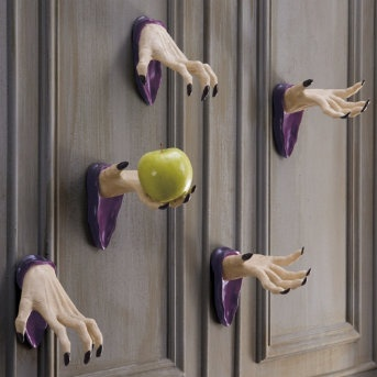 Set of Two Wall-mount Halloween Spooky Hands (I still want these--never bought them last year)