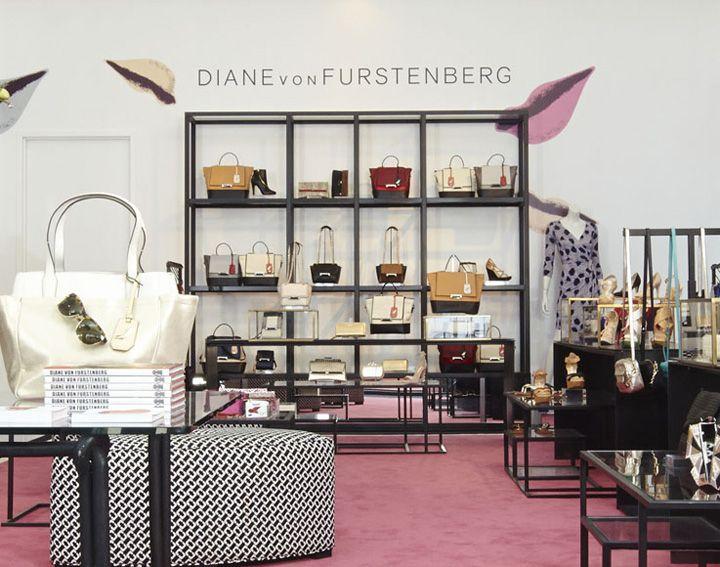 DVF accessories shop, New York