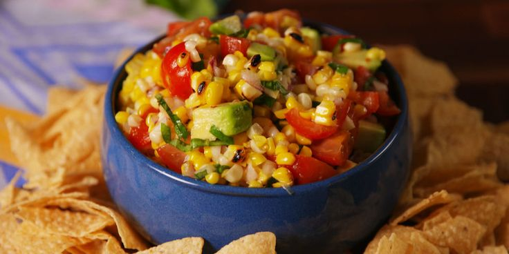 With tangy lime and sweet basil, this grilled corn salsa couldn't be more perfect for summer.GRILLING MADE EASY: Lodge Cast Iron Grill Pan, $43; amazon.com.