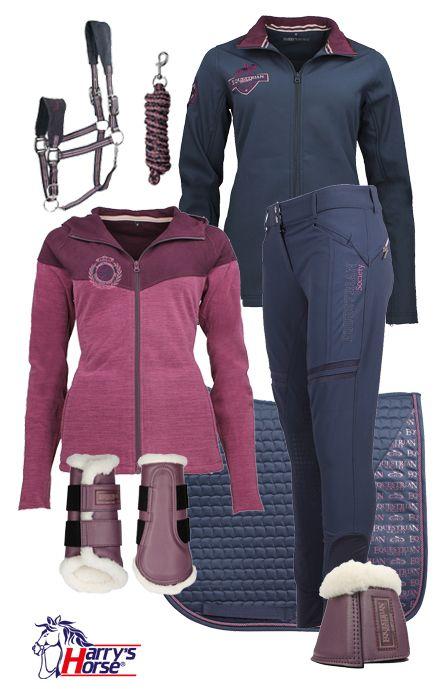 Harry's Horse Winter Black Iris-Purple #Epplejeck #harryshorse #equestriansociety #blue #purple #winter16