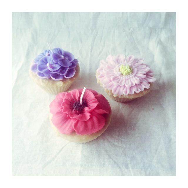 ★キャンドル教室★フラワーケーキキャンドルコース(全4回)