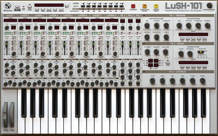 LuSH-101, LuSH-101 plugin, buy LuSH-101, download LuSH-101 trial, D16 Group LuSH-101