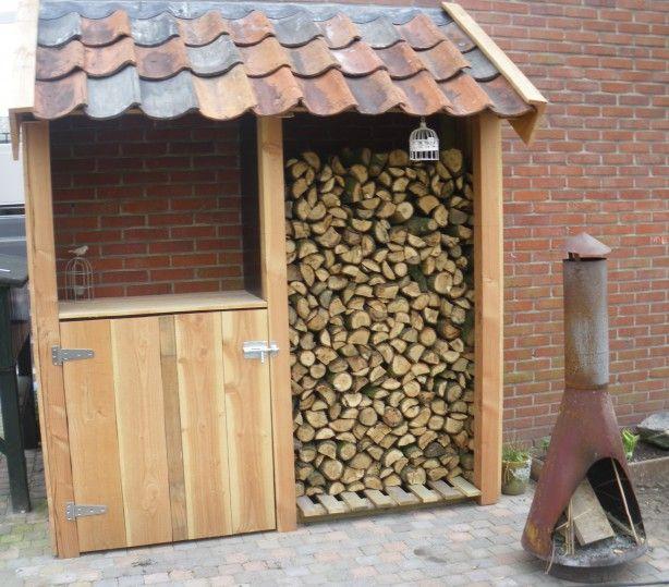 25 beste idee n over houtopslag op pinterest haardhout opslag haardhout en houten rek - Decoratie eetkamer hok ...