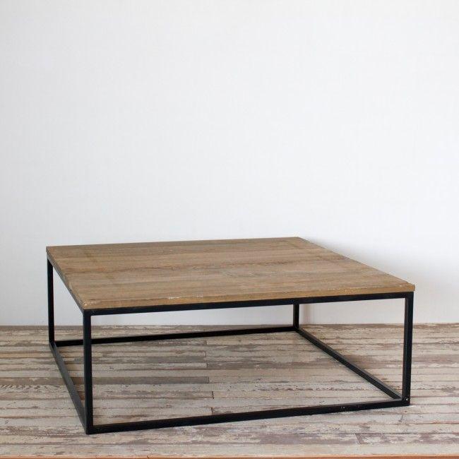 25 populaire idee n over vierkante salontafels op pinterest koffietafel opslag tafel opslag - Ampm tafel ...