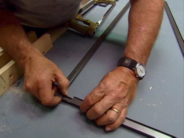 Follow these instructions to create a complete replacement for a damaged window screen.