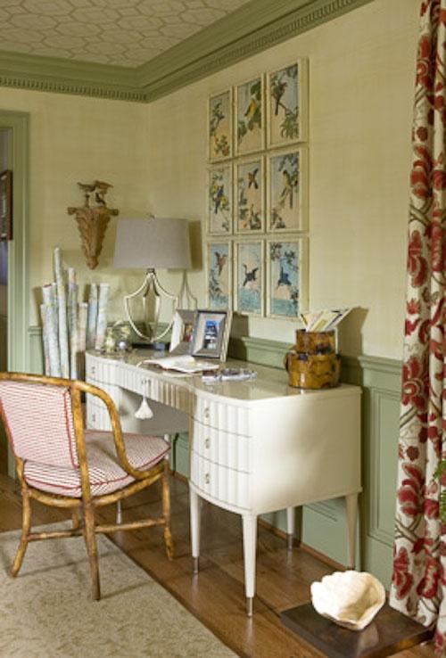 30 Timeless Minimalist Living Room Design Ideas: Benjamin Moore Rosemary Sprig #2144-30