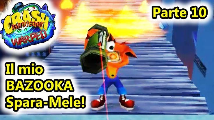 Crash Bandicoot 3 Warped - Il mio BAZOOKA SPARA MELE! - Epsxe Android - ...