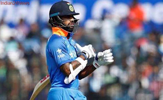 Injury scare for Shikhar Dhawan ahead of third ODI against England