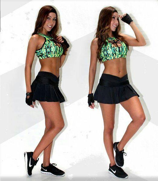 falda-short deportiva