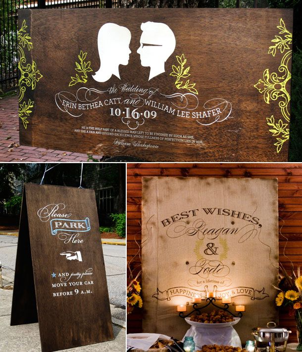 Wooden Wedding Signs: Wedding Signage, Wedding Ideas, Wedding Photo, Wooden Wedding Signs, Bride, Wedding Details, Wooden Signs, Diy Projects, Rustic Wedding