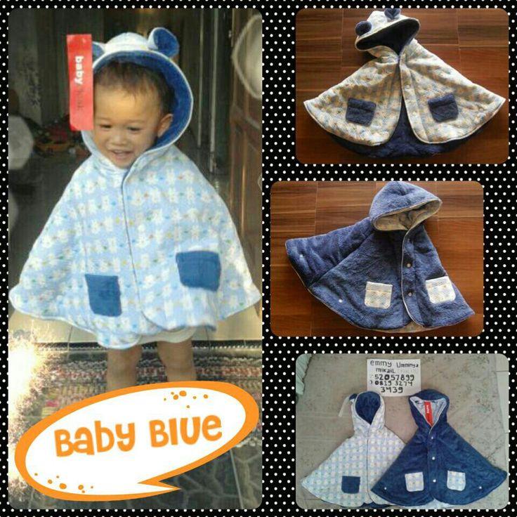 #BabyCape #JaketSelimut #BabyBlue Bbm:52057899