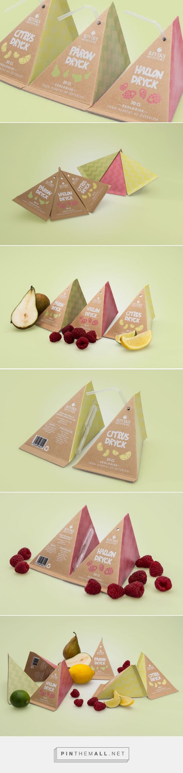 Kiviks Musteri Fruit Drinks (Student Project)         on          Packaging of the World - Creative Package Design Gallery - created via https://pinthemall.net