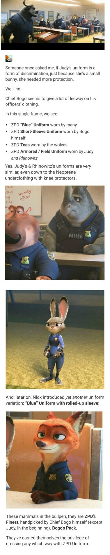 Not really Judy x Nick, but I liked the fact for it and still Zootopia related :D