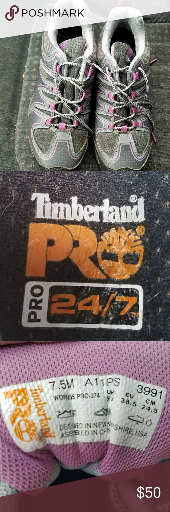 Steel toe shoes Timberland Pro Steeltoe shoes, extremely comfortable, only wore a couple weeks Timberland Shoes Sneakers