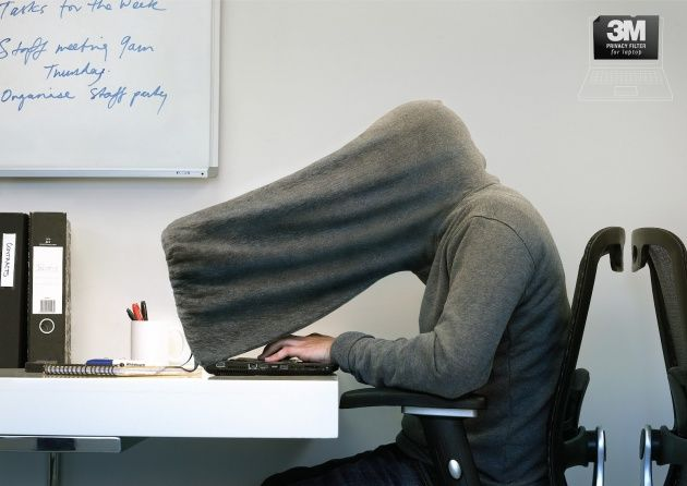 Do not disturb: This 'screen privacy' hoodie supposedly blocks unwanted  attention but is likely to have the opposite effect