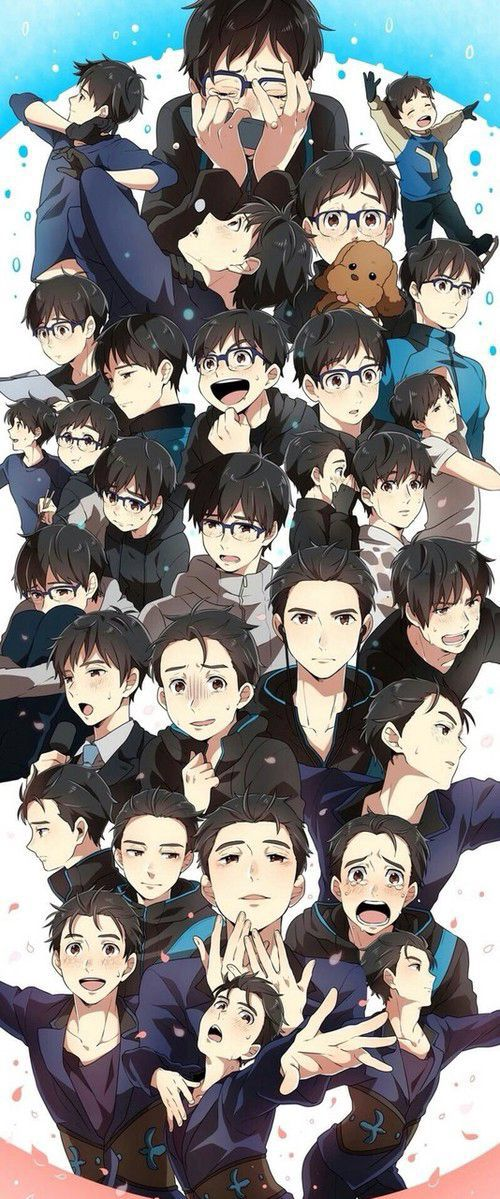 THE EVOLUTION OF YUURI K TO YUURI N (I HAVE NO CLUE HOW TO SPELL EITHER LAST NAME. SHIT.)