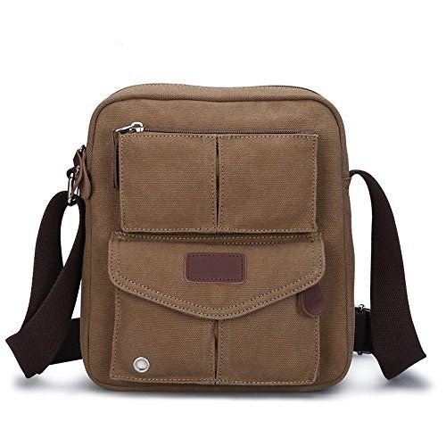 Features:  - Made of high density washed cotton canvas and real leather zips, classic and fashionabl