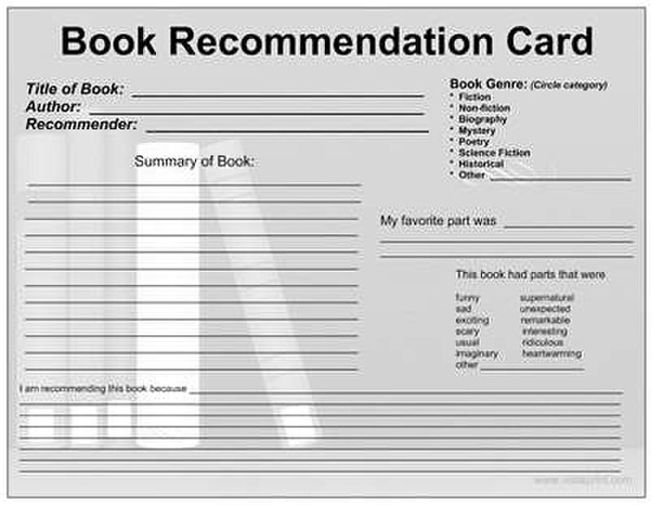Best 25+ Book recommendation form ideas on Pinterest