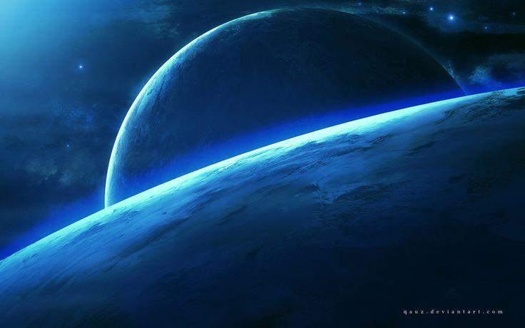太空旅行由QAuZ在DeviantArt的