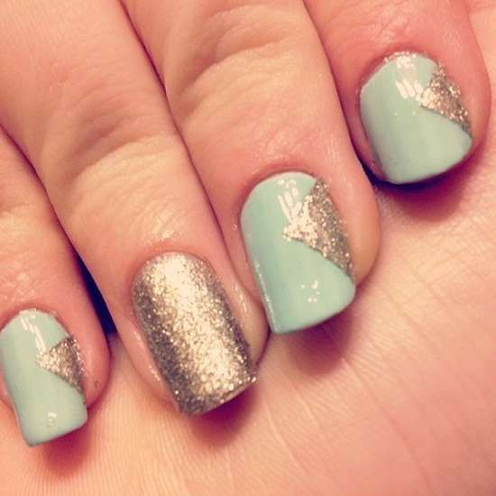 248 Creative Nail Art Designs For Girls Looking To Up: Latest-Nail-Designs-2013-For-Girls.jpg (550×550)