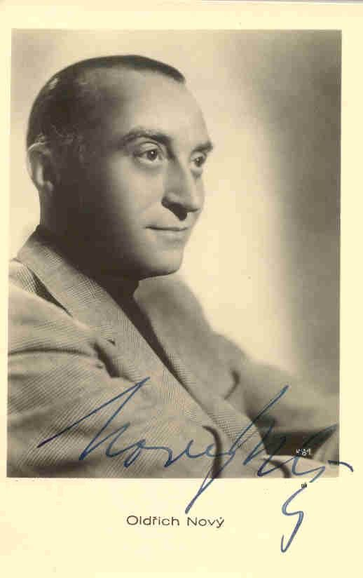 Oldrich Novy (1899-1983), legendary Czechoslovak film and theatre actor…