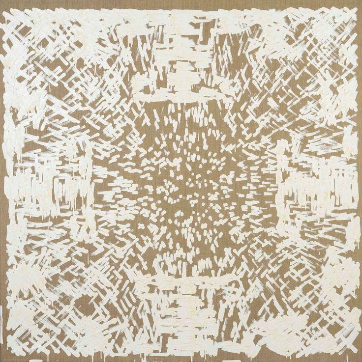 Simon Ingram, Painting Assemblage No. 6 (July), oil on linen