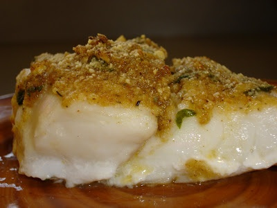 Excellent recipe --Baked red snapper with garlic-- I just did without the bread crumbs :)