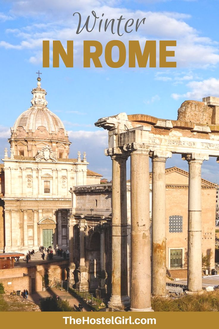 Winter in Rome with The Beehive Hostel & Hotel - a Photo Diary and Journal of a weekend in Rome in January!