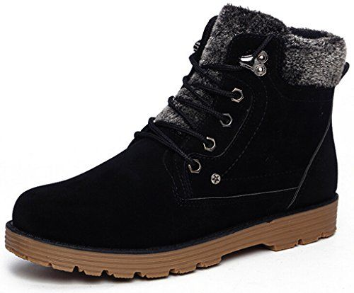 0a880a8fc13 Discover ideas about Mens Fur Lined Boots. Snow Boots 2015 Fashion 【ᗑ】 Winter  Shoes Women's PU Leather Plush ① Shoes For Men Botines Mujer Chaussure ...