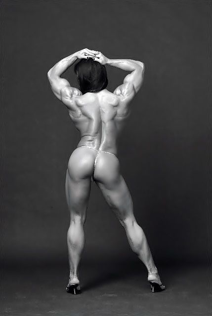 Pin by Anakin Garcia on BLACK & WHITE BODIES | Pinterest | Muscle power, Muscle lady and Fit bodies