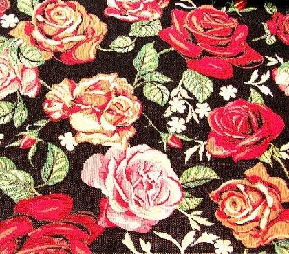 Gobelin meubelstof Floral Cartier E/M5077-02