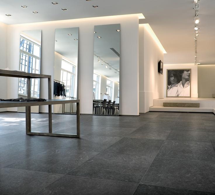 Nordik coal ceramiche refin s p a scandinavian natural stone effect porcelain tiles
