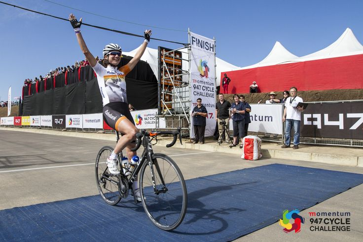 Congrats to Marianne Vos of the Netherlands and Till Drobisch of Namibia who are the winners of the Momentum 947 Cycle Challenge 2014!