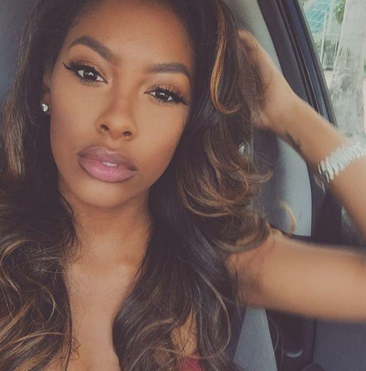 Aliyah Aliyah Raey Pinterest Hair ideas and Lips - Hairstyles For Black Women