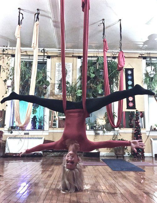 Self-Care Tip #14: Try out a new fitness class. I personally love hot yoga and kick-boxing classes, but there are so many others to choose from! Some other examples are barre, pilates, and Piyo. Another unique one that I tried once was aerial yoga! I really enjoyed aerial yoga because it stretches every muscle in your body! Although there were a few time that I found myself semi-stuck in a position and had to have the instructor unravel me from the fabric! (insert laughing/crying emoji…