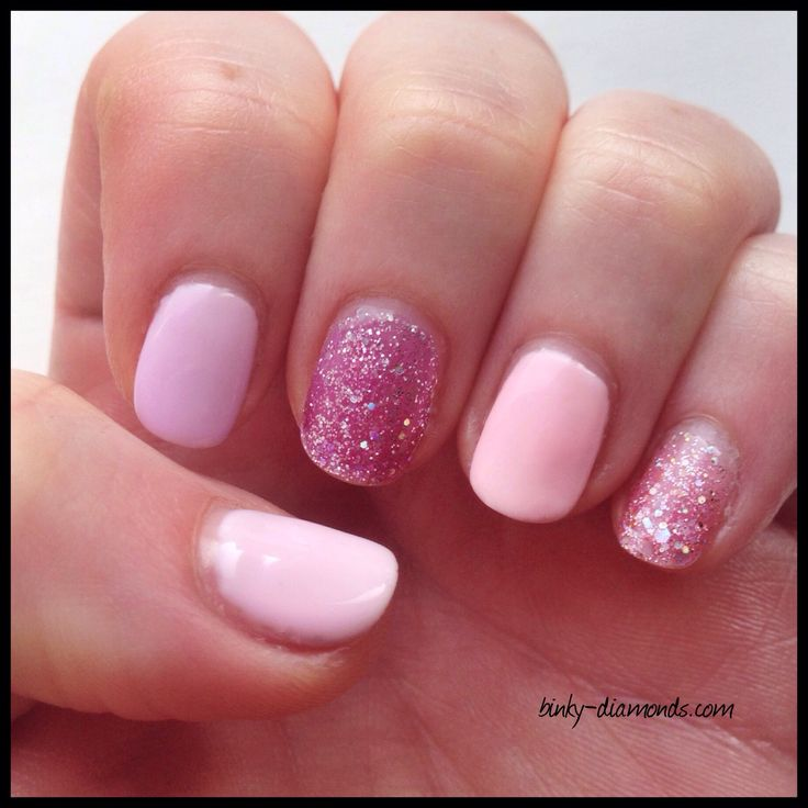mix and match manicure using depend cosmetic gellack