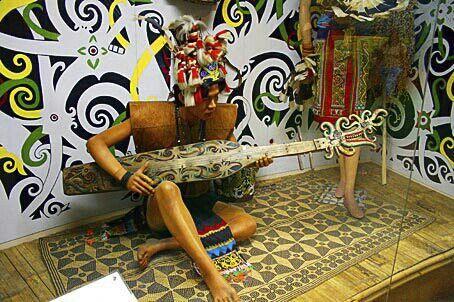 Traditional ethnic dayak