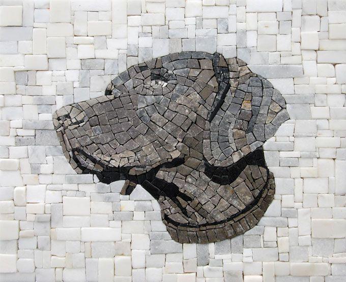 Oban | Roberto Centazzo, STONE FOLIO MOSAICS Marble and Natural Stone. 16 x 13 2011