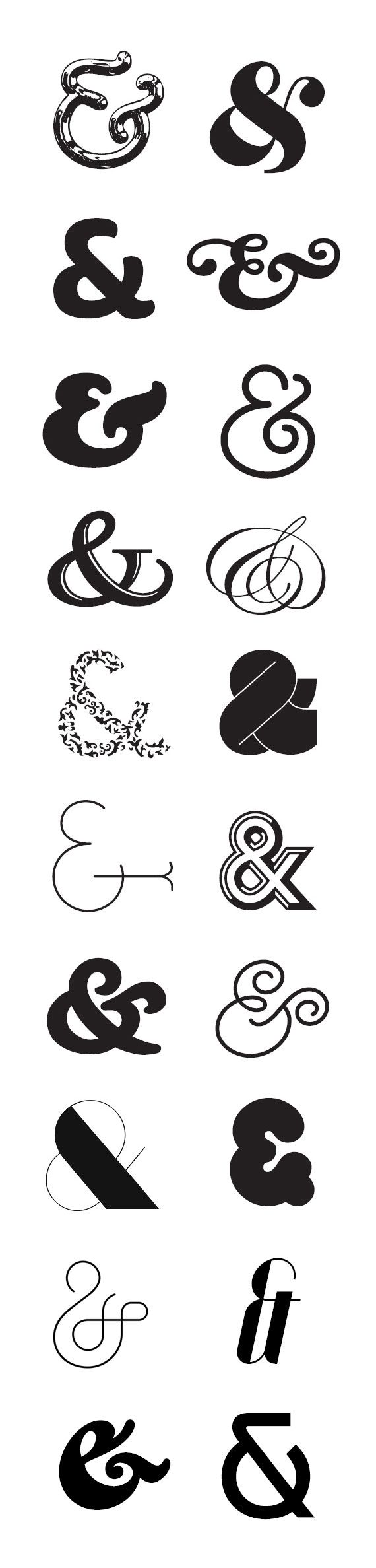 ampersands I love finding stuff like this so I can use it in my art in the future :)