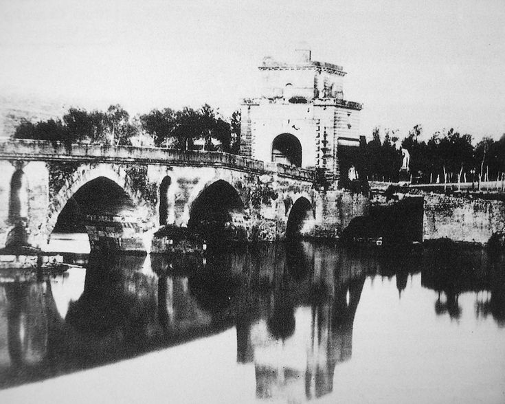 Ponte Milvio nel 1870