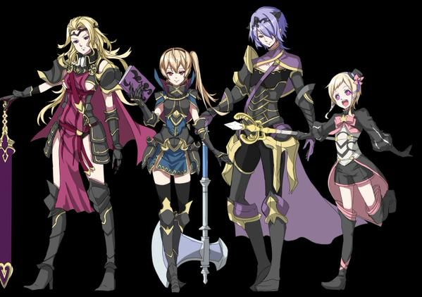HHHHHHHOOOLLY FRICK, the Nohr siblings got genderbends!! :D Camila be lookin' fine, and Leon looks hella good, too!! >w<