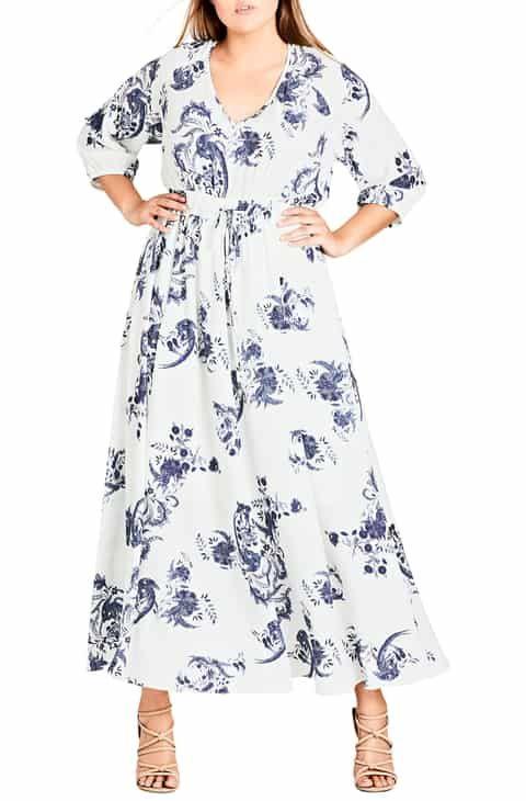 02d559768b7 City Chic Shinjuku Maxi Dress (Plus Size) Best Reviews in 2019 ...