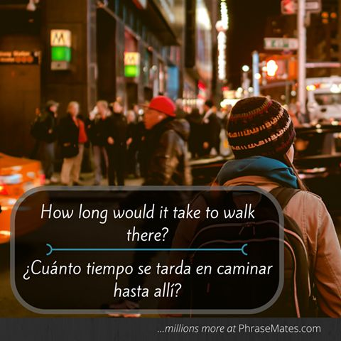 May walking to your hotel be an option? Ask locals and find it out with this phrase!