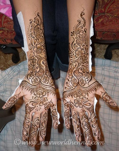 Silpa's palms; Asha Savla design by bethlock3, via Flickr
