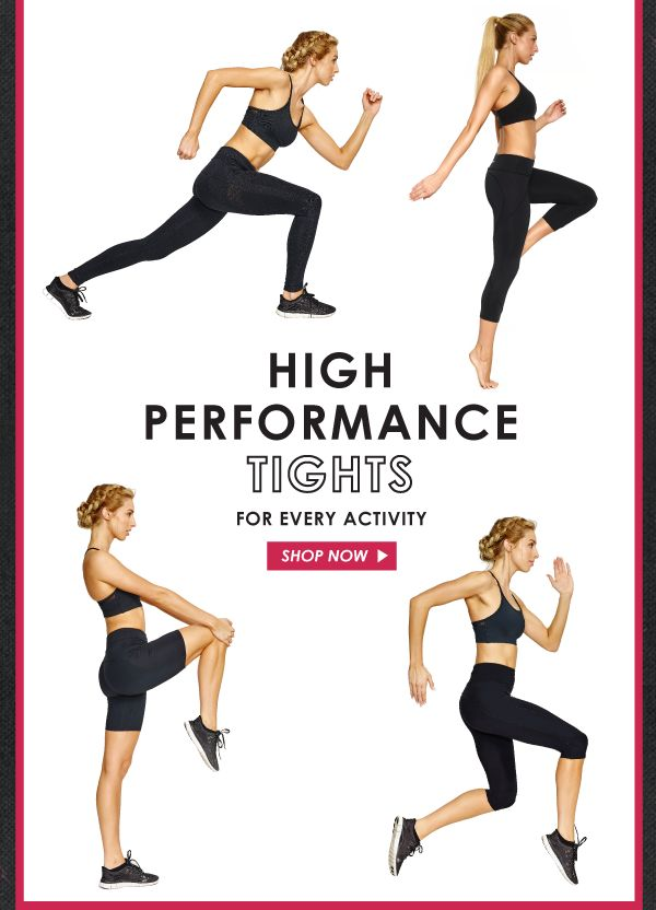 What is everyone saying about our high performance tights? Discover the best in every length, designed with abi and joseph high performance fabrics which are moisture-wicking, shrink and fade resistant and quick-drying with four-way stretch for ultimate performance - so you can stretch, bend, sweat, run and jump in absolute comfort and style.