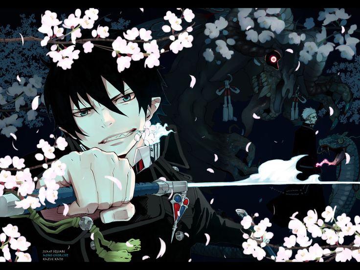 blue exorcist   anime labyrinth: Ao no Exorcist [blue exorcist]