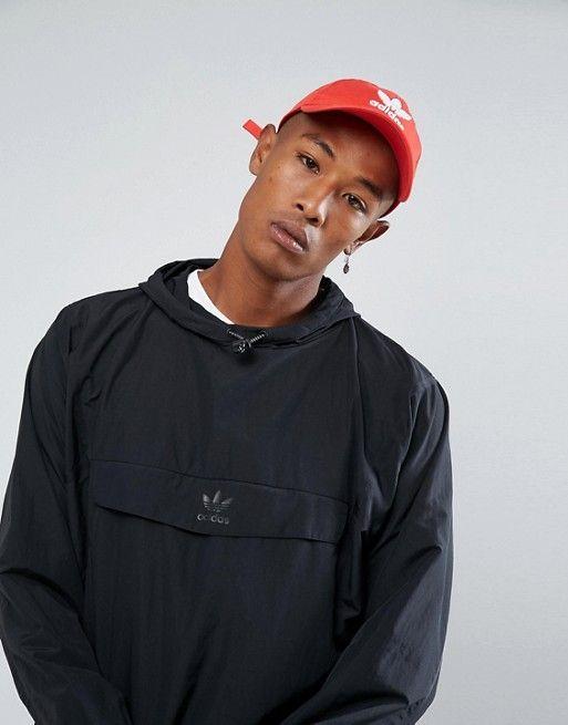 Adidas Originals Black Windbreaker