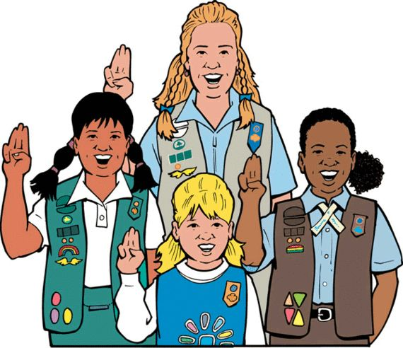 Girl Scout Emblem Clip Art Clipart - Free To Use Clip Art -8937