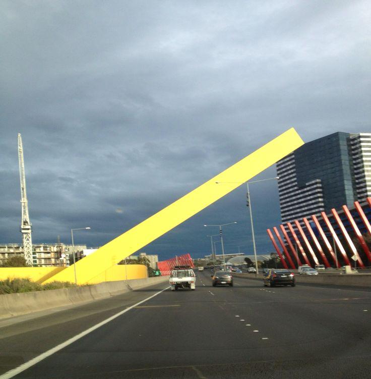City link freeway Melbourne