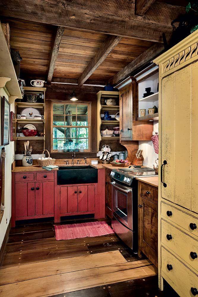 348 best Prim Kitchens images on Pinterest Primitive kitchen